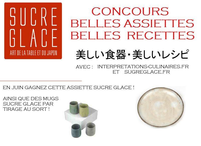 concours sur le blog d'Interprétations Culinaires Juin 2012