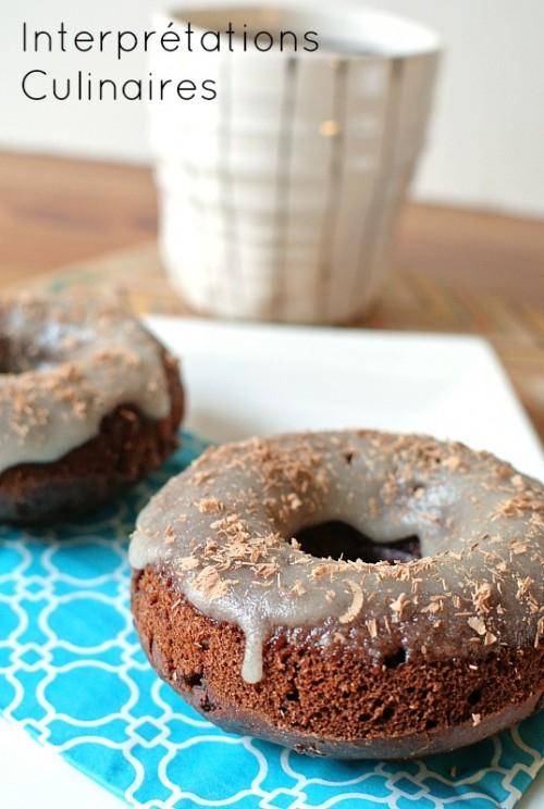 choco-chai donut
