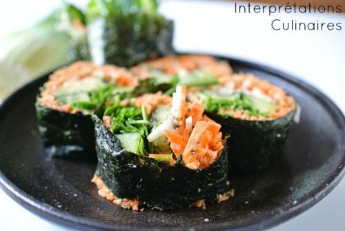 raw maki carotte