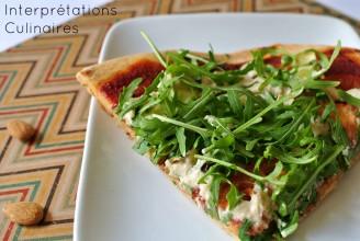 pâte à pizza okara