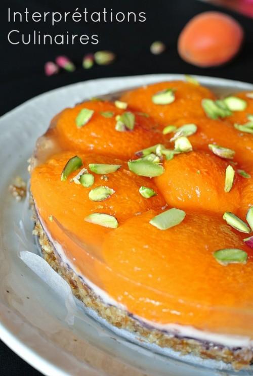 tarte abricots vegan