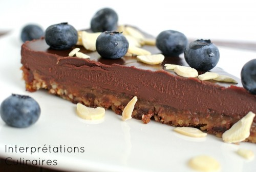 tarte chocolat vegan