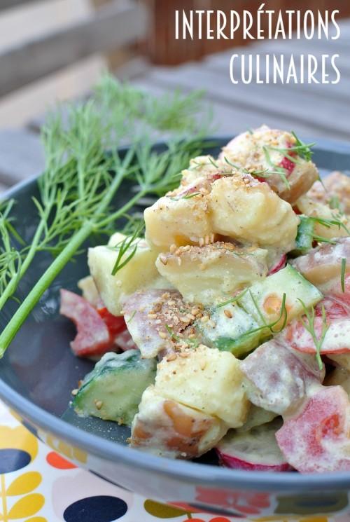 salade patates aneth